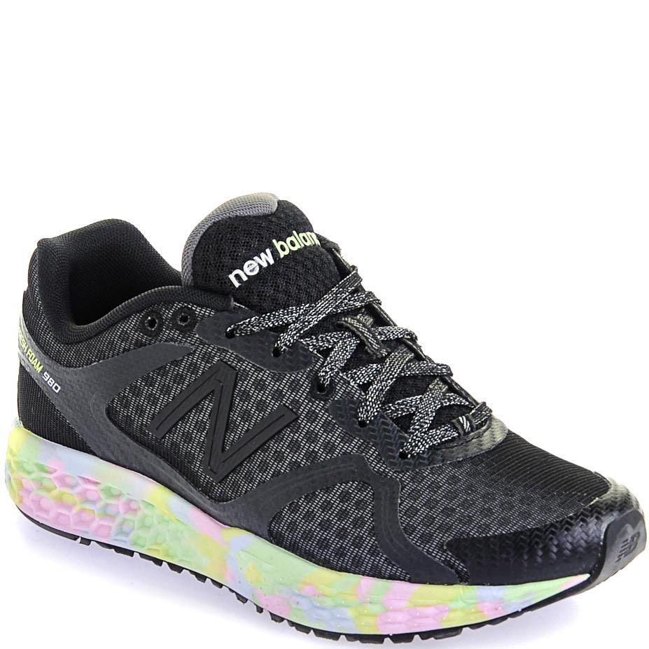 Женские кроссовки New Balance 980 Fresh Foam черные женские