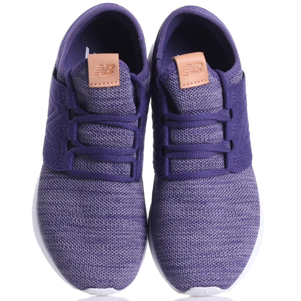 Беговые кроссовки New Balance Fresh Foam Cruz V2 фиолетового цвета