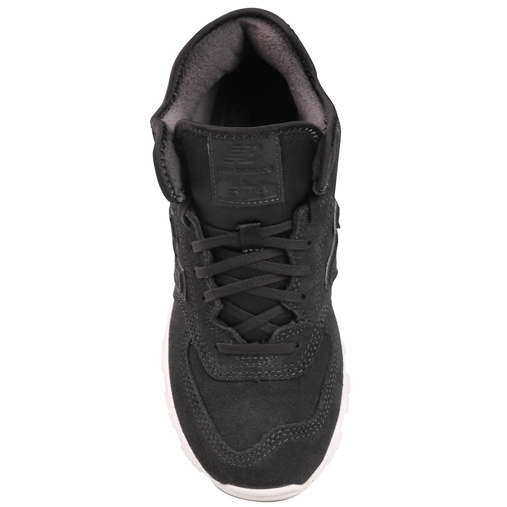 Кроссовки New Balance 574 темно-серого цвета