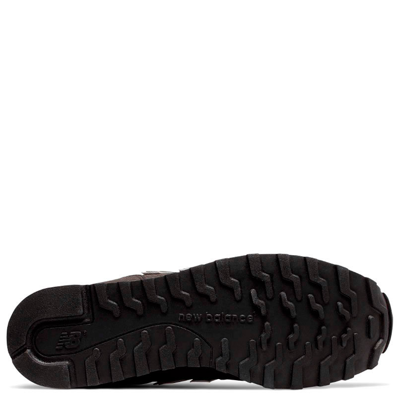 Коричневые кроссовки New Balance 373 с тиснением