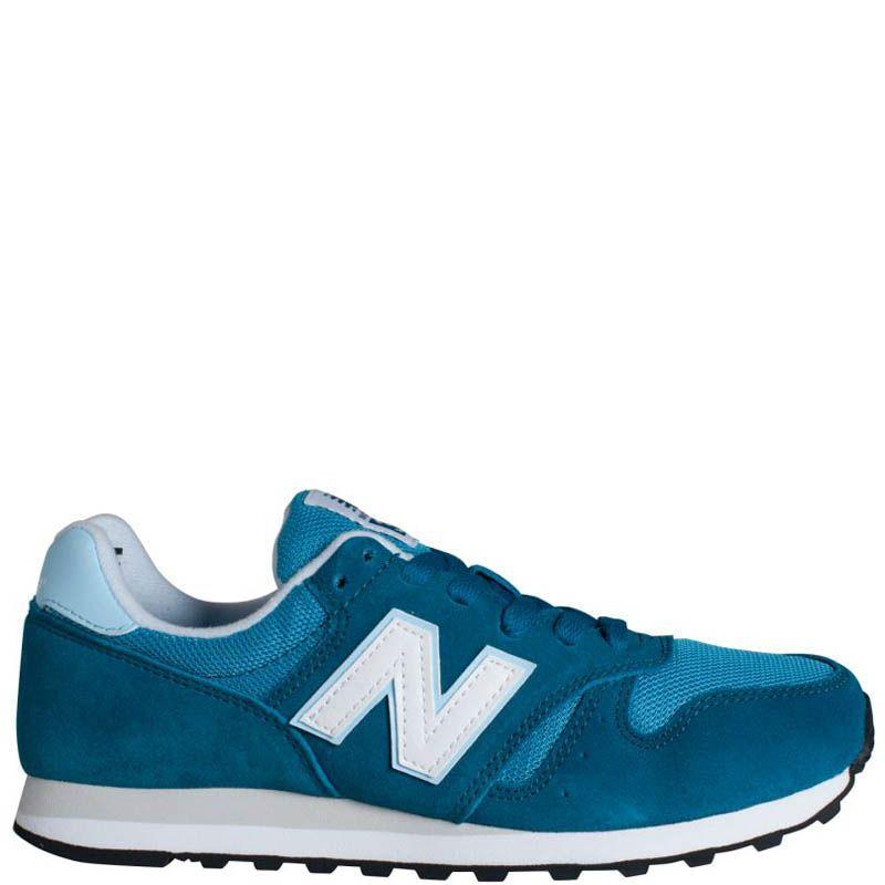 Кроссовки New Balance женские замшевые голубого цвета