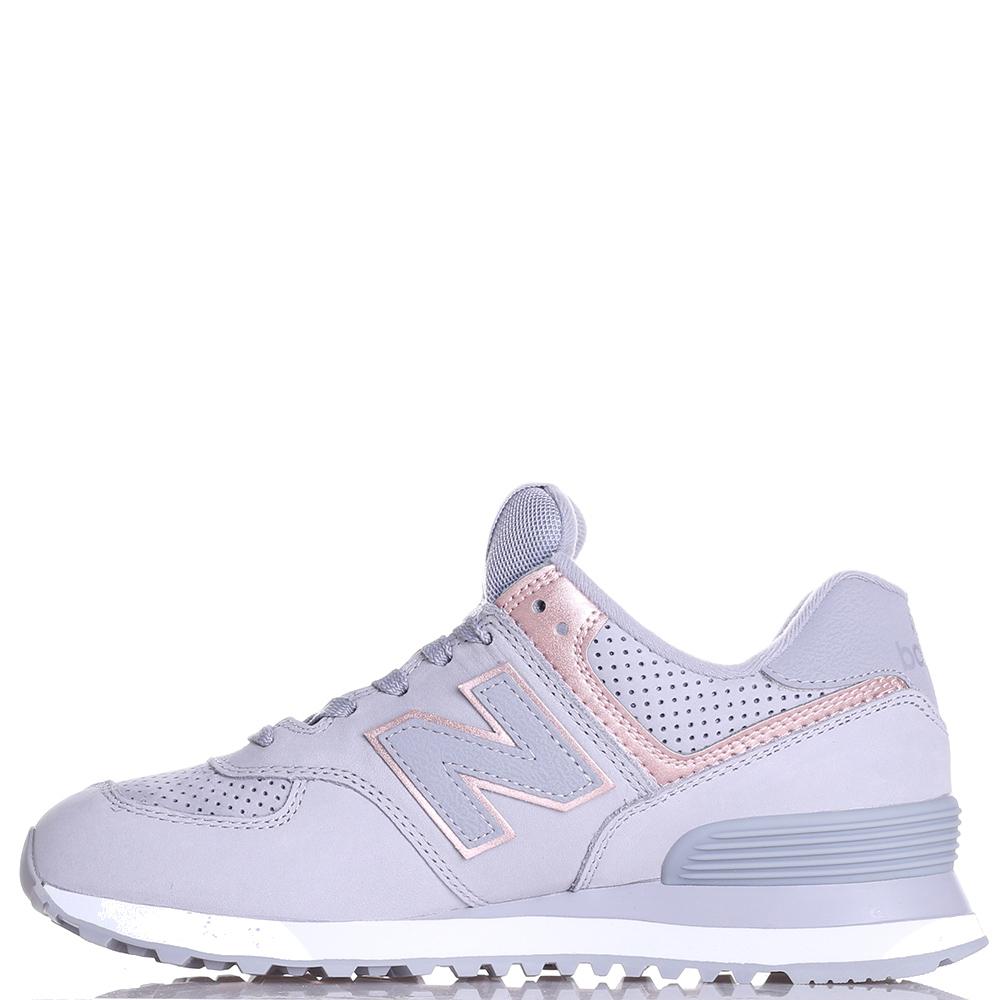 Кроссовки New Balance 574 серого цвета