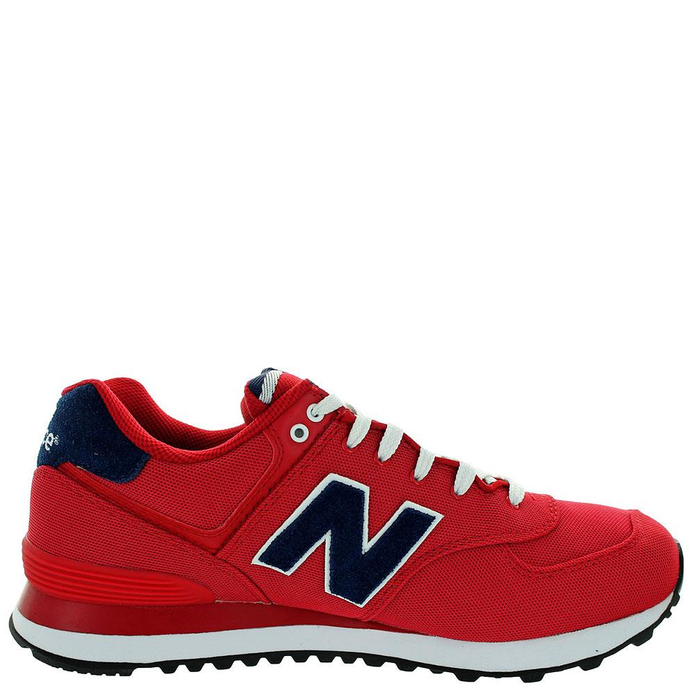 Кроссовки New Balance женские модель 574 POLO Pack в красном цвете