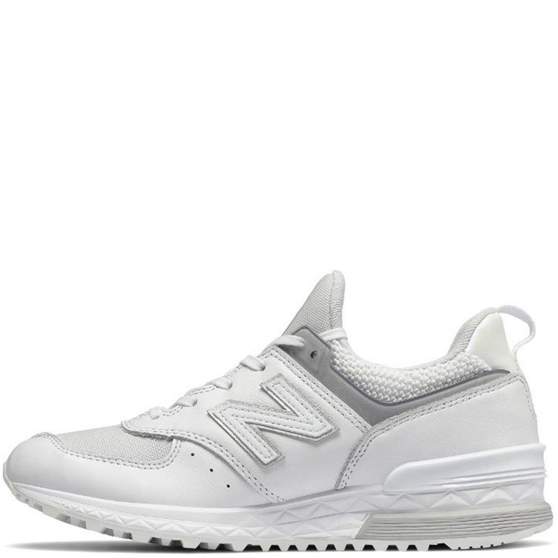Женские кроссовки New Balance 574 белого цвета