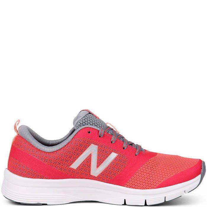 Кроссовки New Balance женские для спортзала кораллового цвета