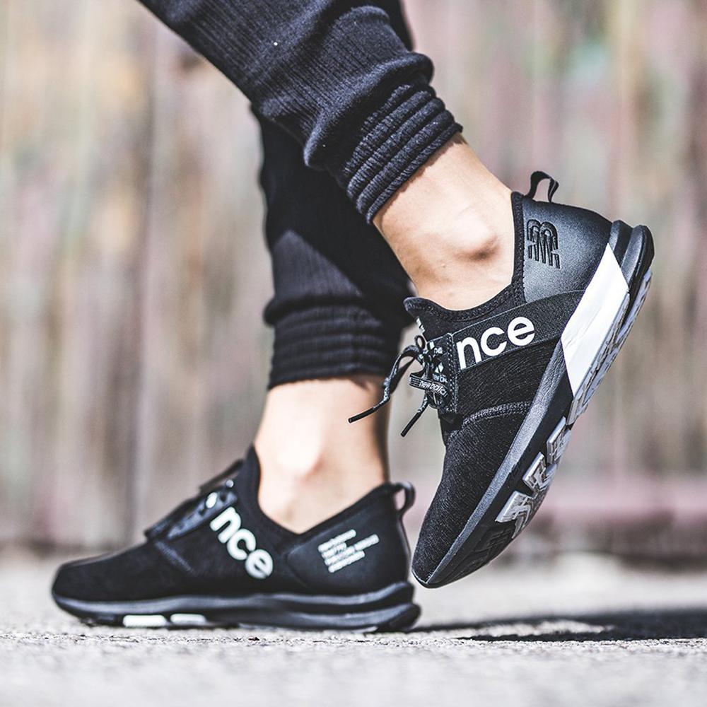 Текстильные кроссовки New Balance Nergize черного цвета