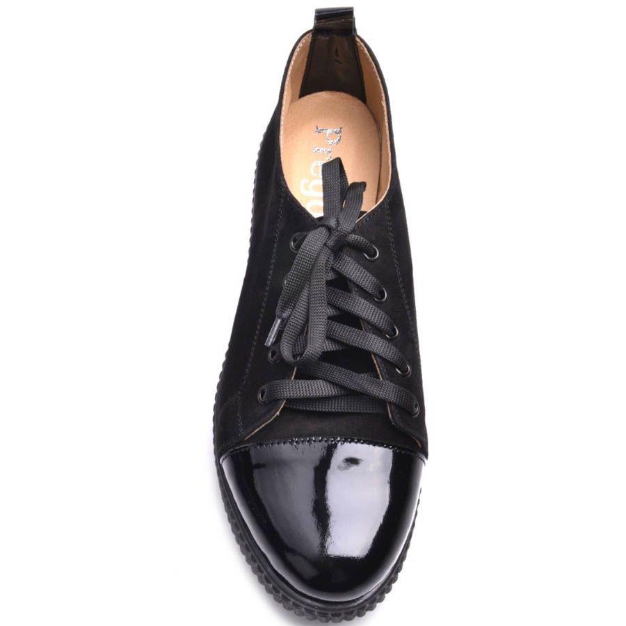 Кеды Prego женские на платформе замшевые черного цвета