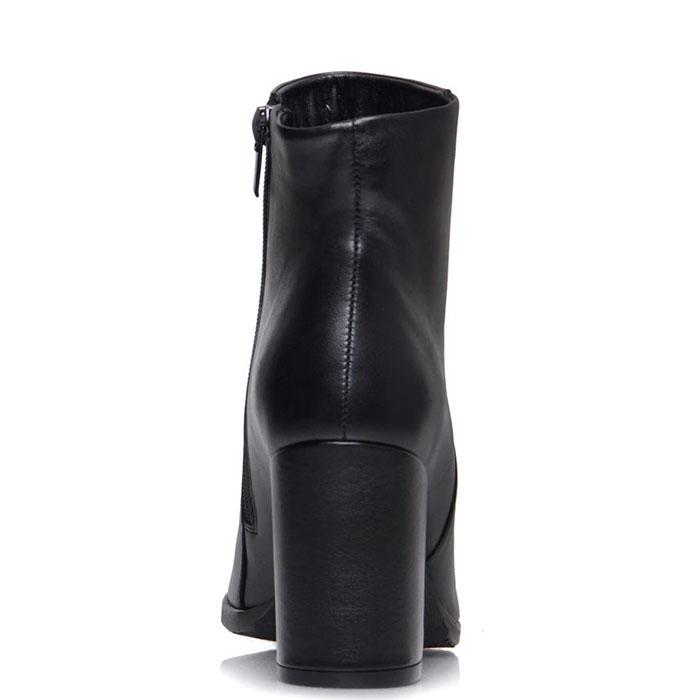 Высокие ботинки Prego из кожи черного цвета