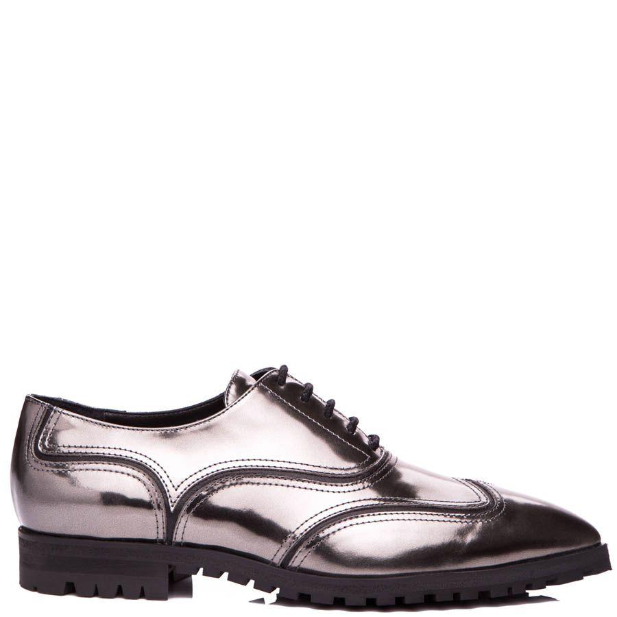 Туфли Giuseppe Zanotti глянцевые бронзового оттенка