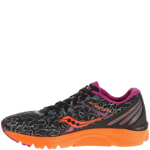 Кроссовки Saucony Kinvara 6 Runshield Black Orange Purple, фото