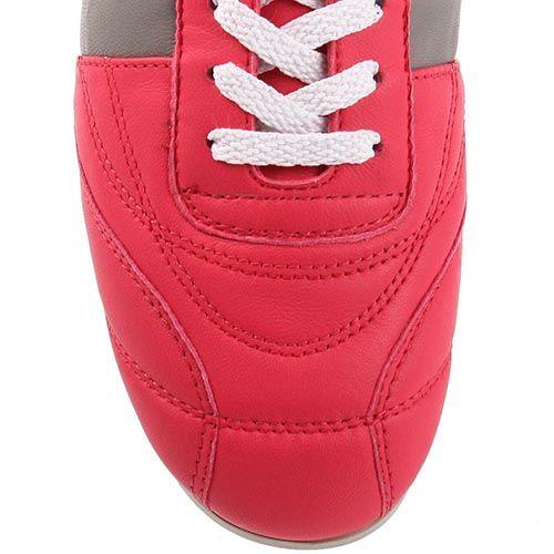 Женские кроссовки Bikkembergs из кожи цвета фуксии, фото