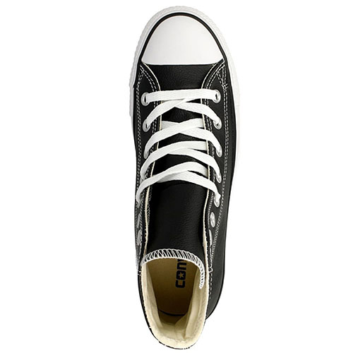 Кожаные кеды Converse Chuck Tailor All Star черного цвета, фото