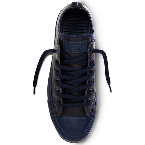 Низкие кеды Converse Chuck Tailor All Star синего цвета, фото