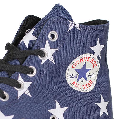 Высокие кеды со звездами Converse Chuck Taylor All Star 70 Hi, фото
