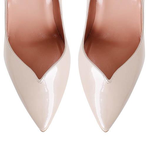 Туфли Giorgio Fabiani из лаковой кожи бежевого цвета, фото