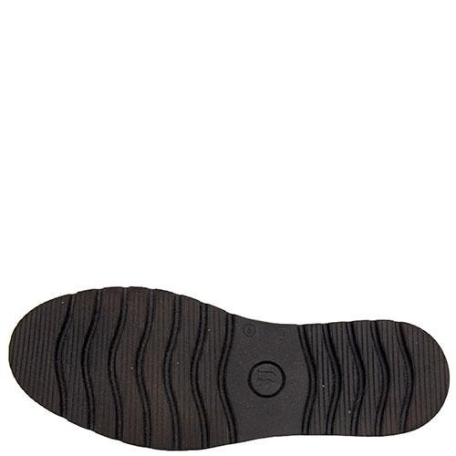 Черные туфли Trussardi Jeans с бахромой, фото