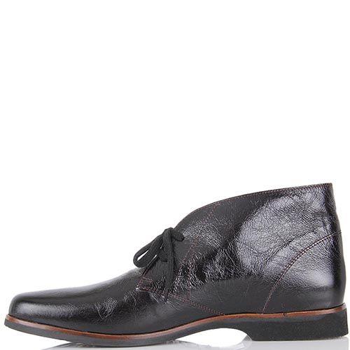 Демисезонные ботинки Pakerson на низком ходу коричневые, фото