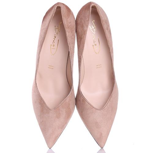 Туфли-лодочки Bianca Di бежевого цвета, фото