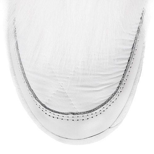 Сапоги-дутики Bogner белого цвета с мехом, фото