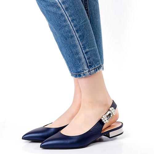 Туфли-слингбеки Marino Fabiani с острым носком, фото
