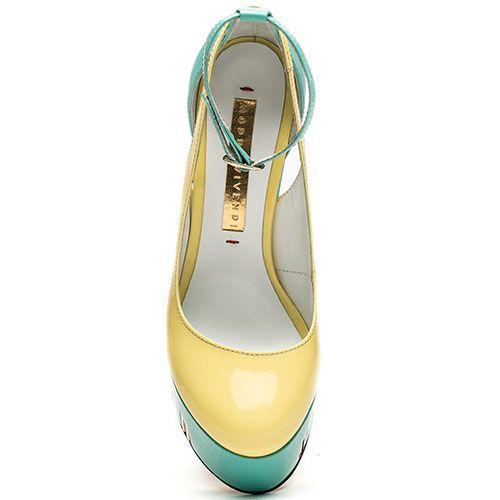 Открытые туфли Modus Vivendi на высоком каблуке и платформе, фото