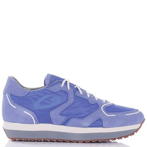Женские кроссовки Alberto Guardiani синего цвета, фото