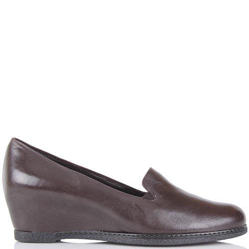 Женские туфли Pakerson коричневого цвета на термоутеплителе, фото