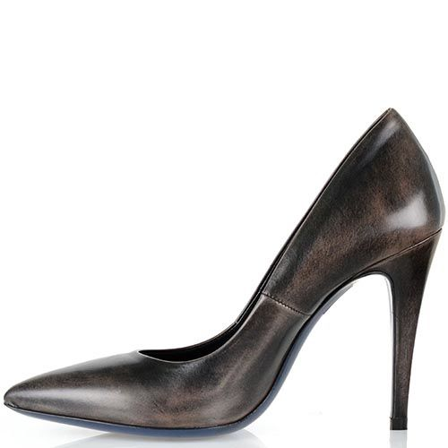 Туфли-лодочки Loriblu с имитацией потертостей и состаренности кожи, фото