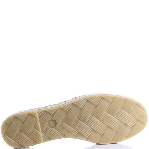 Эспадрильи Ovye by Cristina Lucchi с вышивкой и кисточками, фото