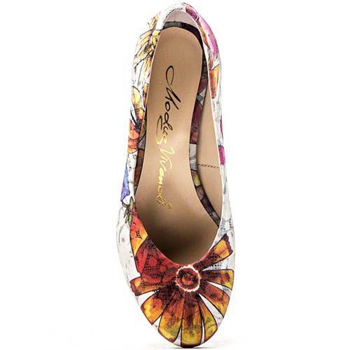 Туфли Modus Vivendi с цветочным принтом, фото