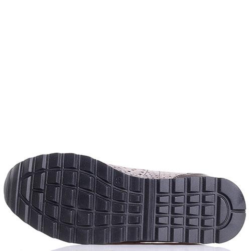 Серые кроссовки Tine's с перфорацией, фото