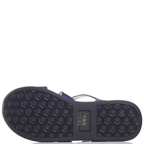 Синие сандалии Tine's на липучке, фото