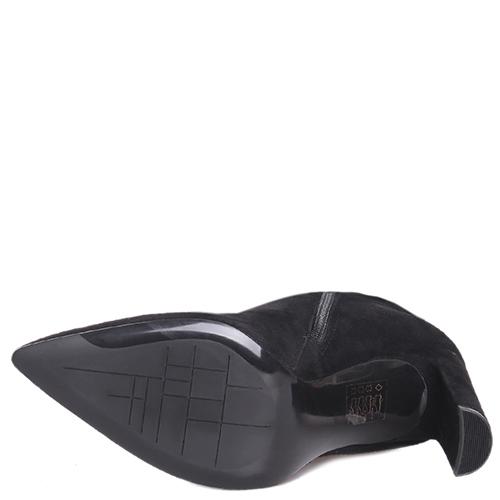 Замшевые сапоги Bruno Premi с острым носком, фото
