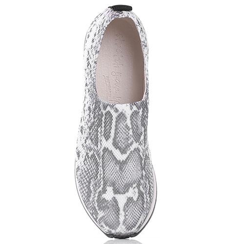 Кроссовки без шнуровки Nr Rapisardi с животным принтом, фото