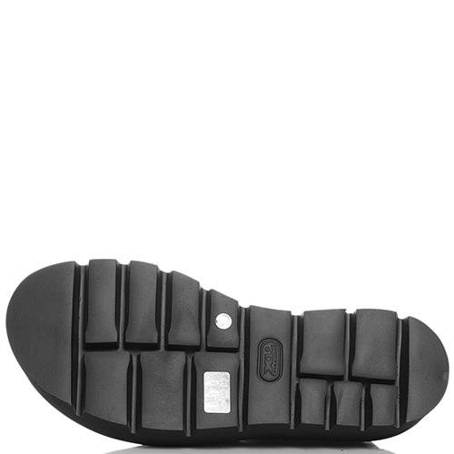 Сандалии черного цвета Strategia на резинках, фото