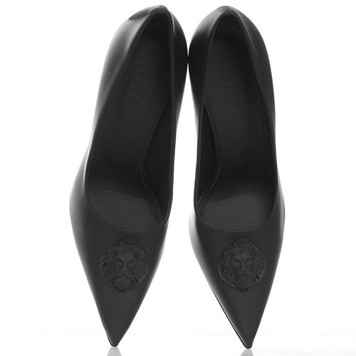 Черные туфли Versus Versace на шпильке, фото