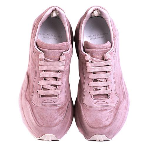 Кроссовки Officine Creative розового цвета, фото