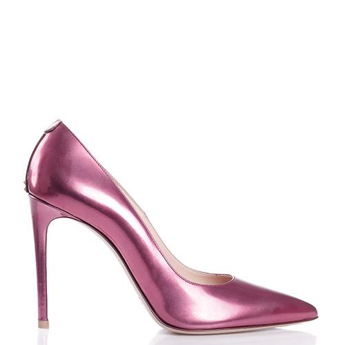 Лаковые туфли Dyva на высокой шпильке, фото