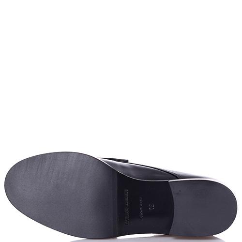 Черные ботинки Helena Soretti с декором в виде банта, фото