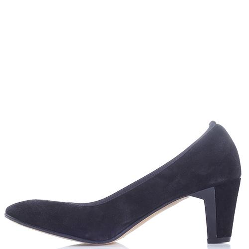 29a9f7babf46 ☆ Замшевые туфли Brunate на среднем каблуке 580-60017 купить в ...