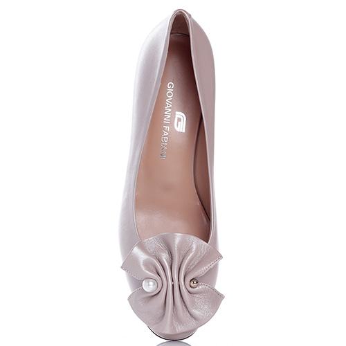Туфли Giovanni Fabiani с декором на носке, фото