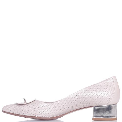 Туфли-лодочки Fabio Di Luna с декором-булавкой на носке, фото
