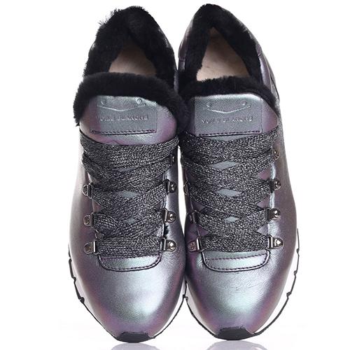Кроссовки Voile Blanche перламутрового цвета, фото