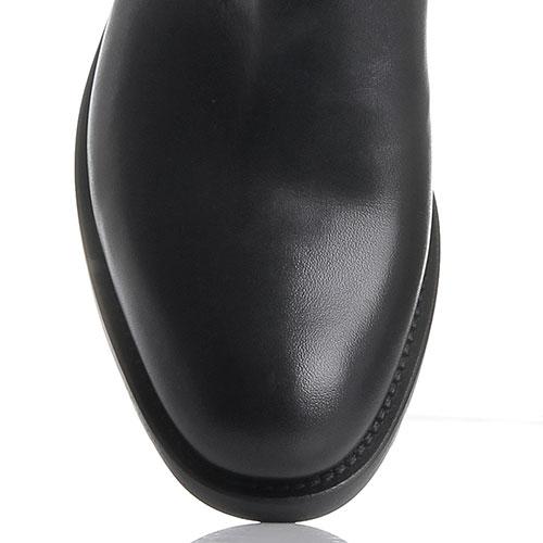 Ботфорты Fru.It черного цвета из кожи и замши, фото