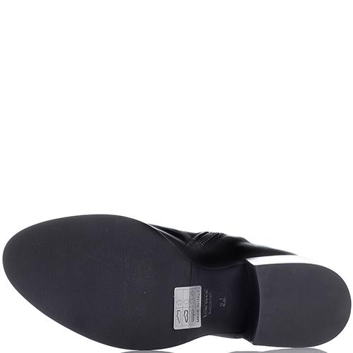 Сапоги Fru.It Now черного цвета на устойчивом каблуке, фото