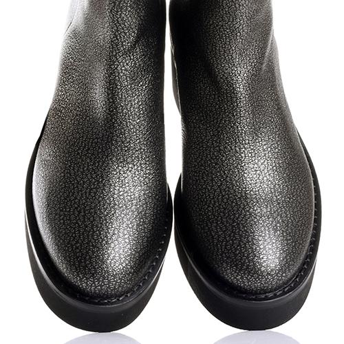 Серые ботинки Vic Matie на молнии сзади, фото