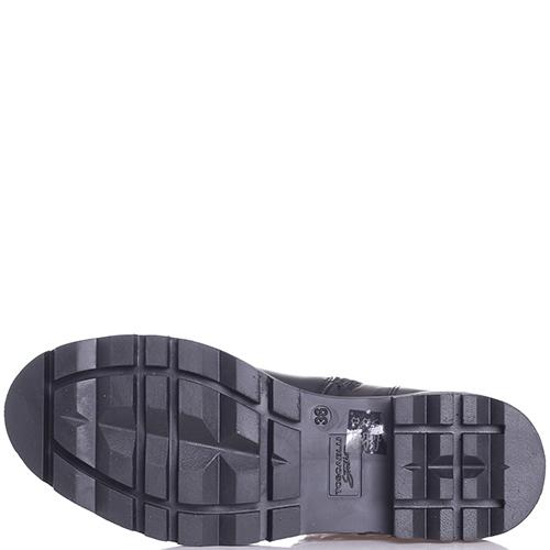 Черные ботинки Tosca Blu декорированные бусинами, фото