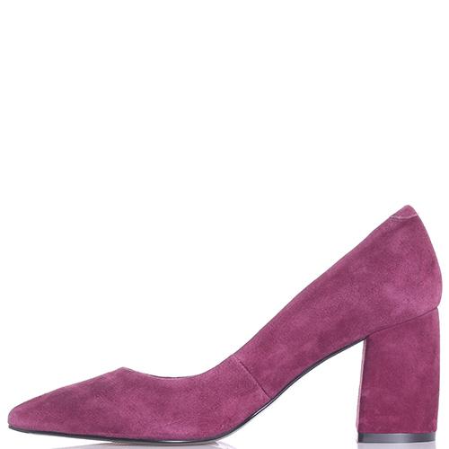 Фиолетовые туфли Tosca Blu на устойчивом каблуке, фото