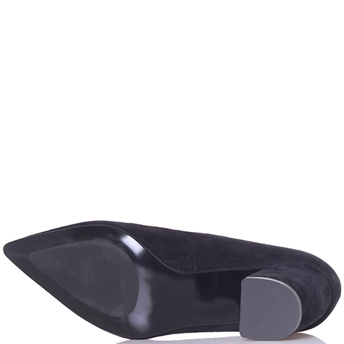 Замшевые туфли Tosca Blu с острым носком, фото