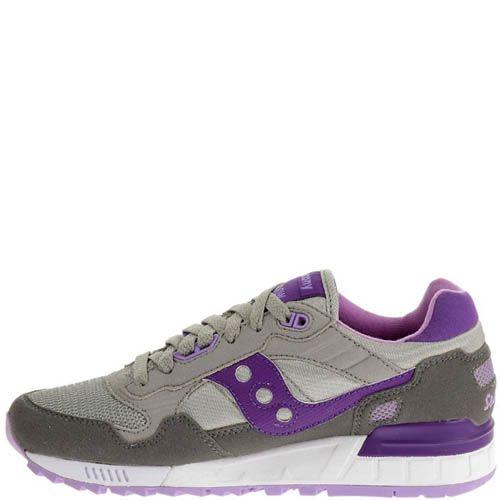 Кроссовки Saucony Shadow 5000 Grey Purple, фото